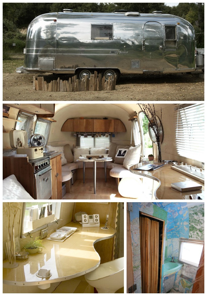 travel trailer remodel 45. Black Bedroom Furniture Sets. Home Design Ideas
